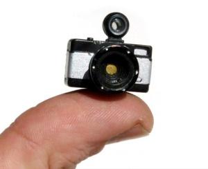 La cámara mas pequeña del mundo