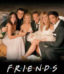 Friends. Espectacular serie