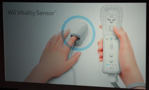 Wii Vitality Sensor. Lo nuevo de Nintendo Wii