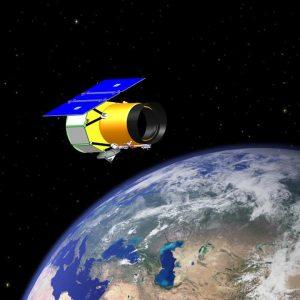 Telescopio del proyecto WISE, orbitando la tierra