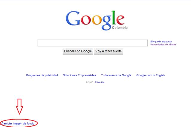 Nueva funcionalidad de google al estilo Bing