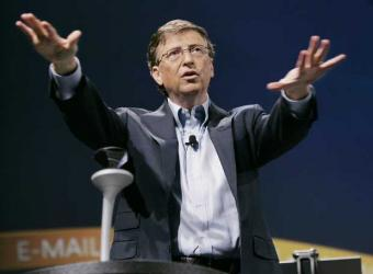 Bill gates y su decalogo en una conferencia
