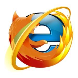 Entran al mundo web Internet explorer 9 vs Firefox 4